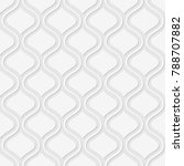 seamless pattern of wavy lines... | Shutterstock .eps vector #788707882