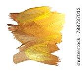 gold foil vector illustration.... | Shutterstock .eps vector #788737012