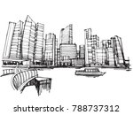 free hand drawing sketch vector ...   Shutterstock .eps vector #788737312
