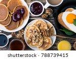 valentine's day breakfast or...   Shutterstock . vector #788739415