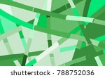 abstract bamboo pattern. ... | Shutterstock .eps vector #788752036