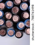 copper electrical power cable... | Shutterstock . vector #788761498
