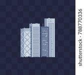 modern buildings skyscrapers. 8 ...   Shutterstock .eps vector #788770336