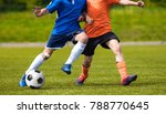football match for young... | Shutterstock . vector #788770645