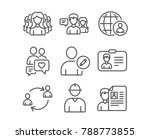set of women group ... | Shutterstock .eps vector #788773855