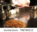teppanyaki with chef | Shutterstock . vector #788780212