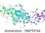 light multicolor  rainbow...   Shutterstock .eps vector #788793766