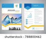 vector modern brochure ...   Shutterstock .eps vector #788800462