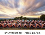 camping point at morning | Shutterstock . vector #788818786