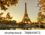 paris eiffel tower | Shutterstock . vector #788843872