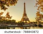 paris eiffel tower | Shutterstock . vector #788843872