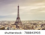 paris eiffel tower | Shutterstock . vector #788843905