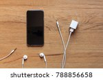 cable phone chargers  earphone... | Shutterstock . vector #788856658