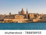 Malta Valletta Panoramic View...