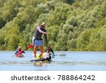 danube river  ukraine   july 14 ... | Shutterstock . vector #788864242