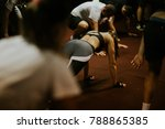 hiit interval training. high... | Shutterstock . vector #788865385