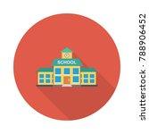 school institute building  | Shutterstock .eps vector #788906452
