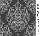ornamental seamless pattern.... | Shutterstock .eps vector #788919352