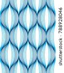 geometric seamless pattern ... | Shutterstock .eps vector #788928046