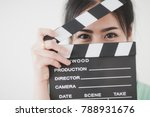young attractive asian woman... | Shutterstock . vector #788931676
