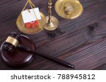 justic lawer scale symbol for...   Shutterstock . vector #788945812