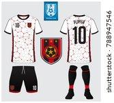 soccer jersey  football kit  t... | Shutterstock .eps vector #788947546
