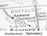 amherst. nebraska. usa on a map.   Shutterstock . vector #788948842
