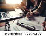 team business mans job .... | Shutterstock . vector #788971672