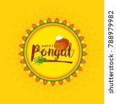 south indian harvesting... | Shutterstock .eps vector #788979982