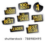 best seller stickers set  sale... | Shutterstock .eps vector #788980495