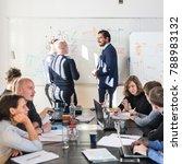 relaxed informal it business... | Shutterstock . vector #788983132