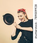joy and fun during food... | Shutterstock . vector #789009928