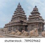 shore temple in mamallapuram ... | Shutterstock . vector #789029662