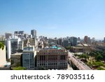 aerial view of the sao paulo... | Shutterstock . vector #789035116