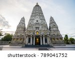 bodh gaya  mahabodhi temple ... | Shutterstock . vector #789041752