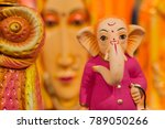 colorful dolls made of clay ... | Shutterstock . vector #789050266
