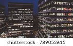 corporation office buildings at ... | Shutterstock . vector #789052615