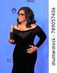 los angeles   jan 7   oprah... | Shutterstock . vector #789057436