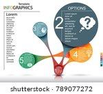 infographics business template... | Shutterstock .eps vector #789077272