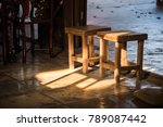 beautiful light in shop   ... | Shutterstock . vector #789087442