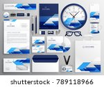 professional modern business... | Shutterstock .eps vector #789118966