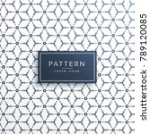modern geometric pattern shape... | Shutterstock .eps vector #789120085