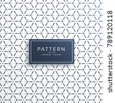 minimal clean geometric pattern ... | Shutterstock .eps vector #789120118
