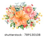 Beautiful Floral Design With...