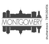 montgomery capital alabama usa... | Shutterstock .eps vector #789130456