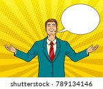 happy businessman with smile... | Shutterstock . vector #789134146