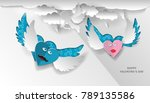 love invitation card valentine...   Shutterstock .eps vector #789135586