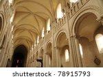 caen   abbaye aux dames in... | Shutterstock . vector #78915793