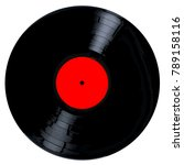 a typical lp vinyl record all... | Shutterstock .eps vector #789158116