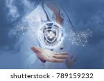 health of the world in the... | Shutterstock . vector #789159232